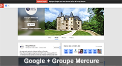 Google Plus Groupe Mercure