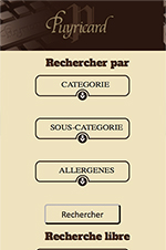 Site mobile first Chocolaterie de Puyricard