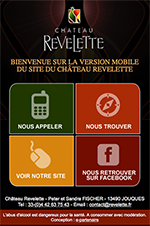 Site mobile Chateau Revelette